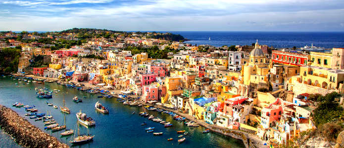 The Islands of Naples Bay: Procida, Capri and Ischia